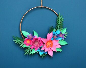 Mini Copper Hoop Decoration Craft Kit