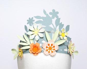 DIY floral crown craft kit