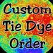 Sara reviewed CUSTOM Retro Owl Tie Dye Tees - Tye Dye Brown Owl - Adult V-Neck T-shirts x3