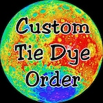 Custom Made to Order Tie Dye T-shirts (4) for N.C.
