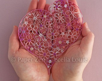 Flowers - Quilling Patterns PDF Tutorial