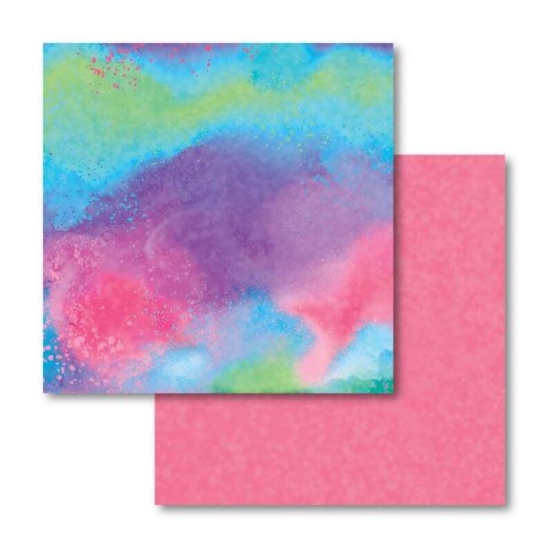 Cricut Infusible Ink Transfer Sheet Patterns Watercolor Splash