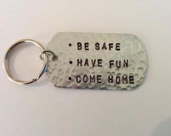 New Driver Keychain