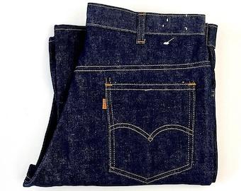 Vintage 70's Unworn, Levi's 646 Jeans, Bell Bottom, Orange Tab, Denim (W36)