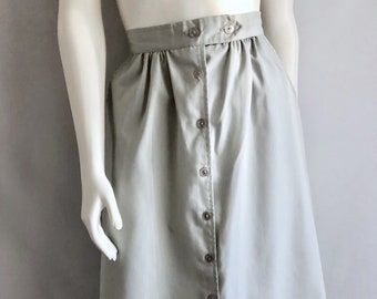 Vintage Women's 80's Skirt, Ramie, Cotton by Feelin Jazzie (M)