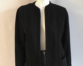 Vintage Women's 80's Jantzen, Wool, Cardigan Sweater (M)