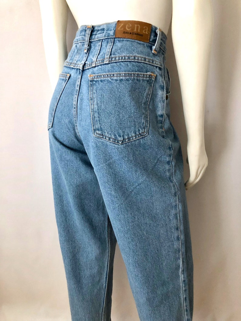 Vintage Women's 90's Zena Jeans High Waisted Curvy image 0