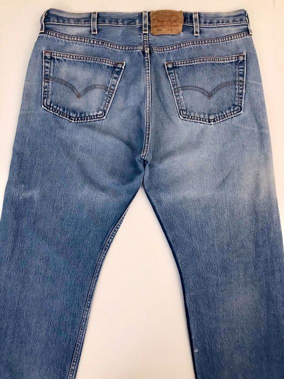Vintage Men's 90's Levi's 501, Jeans, Distressed,… - image 7