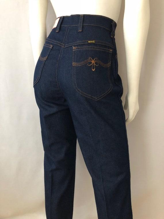 Vintage Women's 80's NOS, Maverick Jeans, High Wai