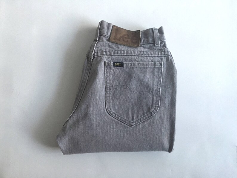 5ec0dabb Vintage Men's 80's Gray Lee Riders Jeans Relaxed   Etsy