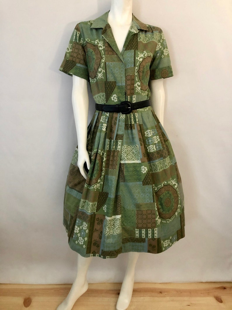 Vintage Women's 50's/60's Coquette Green Short image 0
