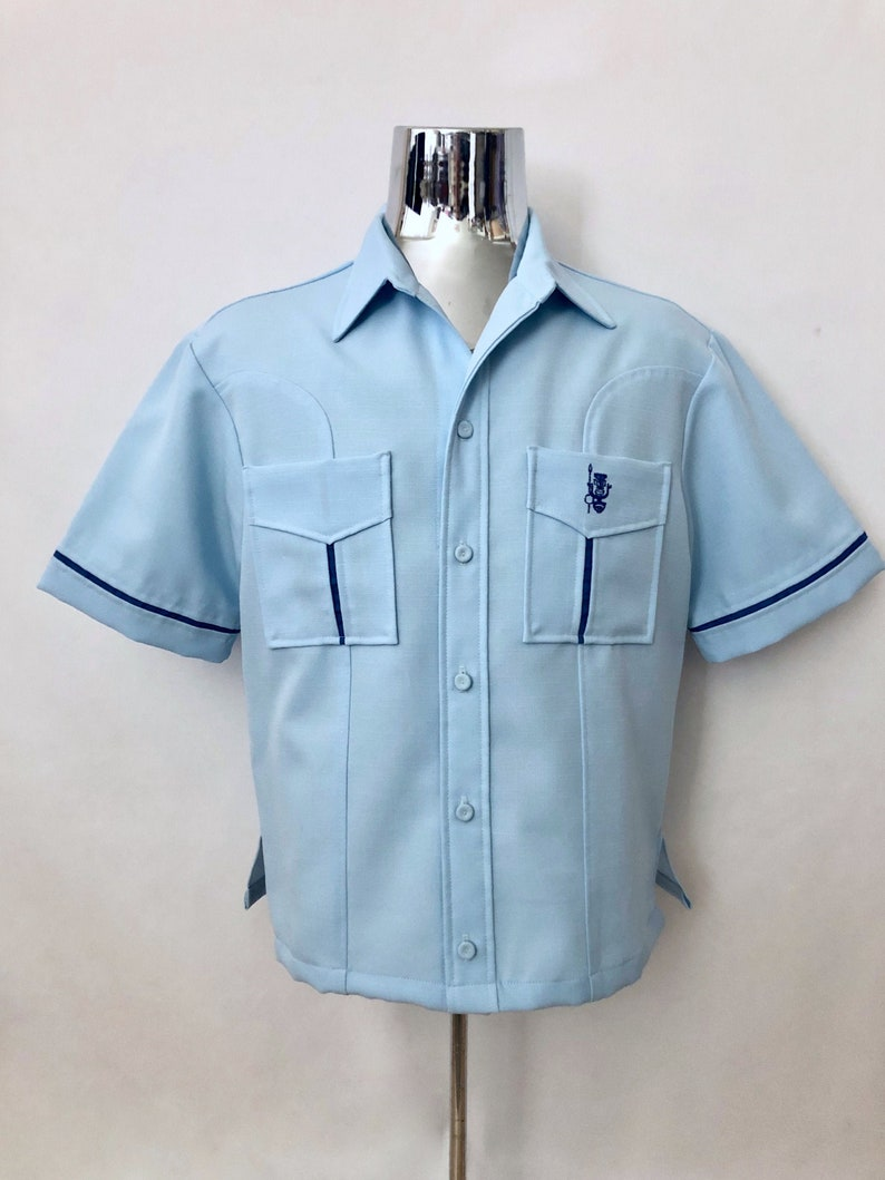 Vintage Men's 60's Iolani Hawaiian Executive Light image 0