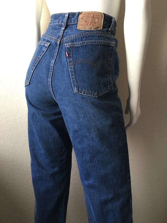 2915f453 Vintage Women's 80's Levi's 501 Jeans High | Etsy