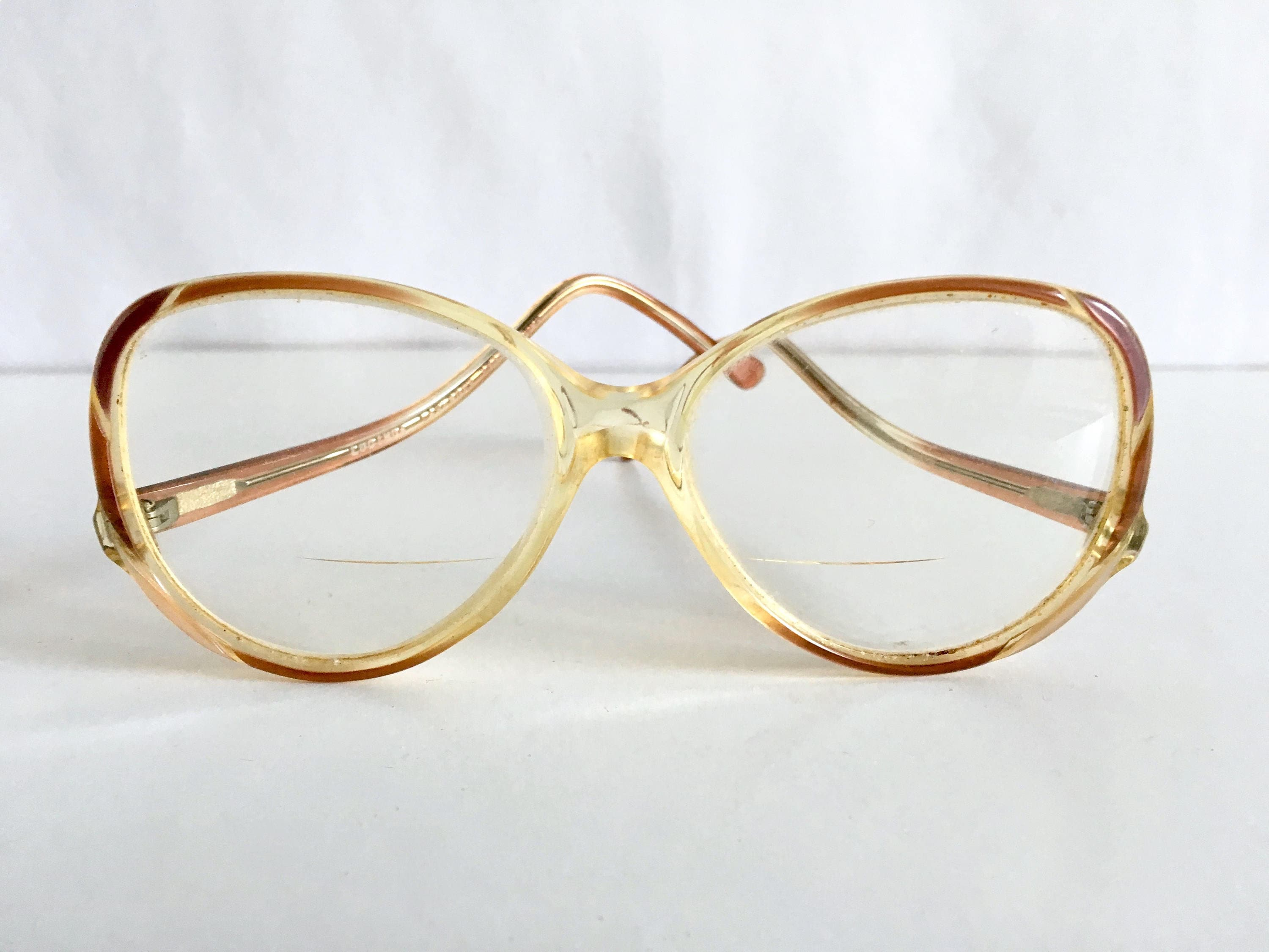 f1db011cf679 Vintage eyewear womens glasses frames rounded jpg 3000x2250 Glasses from  the 80s
