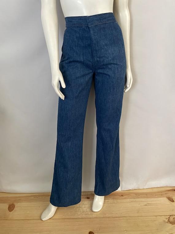 Vintage Women's 70's Wrangler, Bell Bottom Jeans,