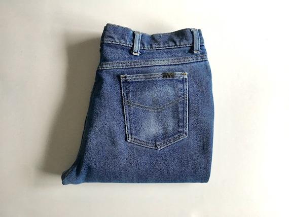 Vintage Roebucks Jeans 30/30 Straight Leg Simple No Fuss Design 1970's Scovill Zipper 6zPQLI
