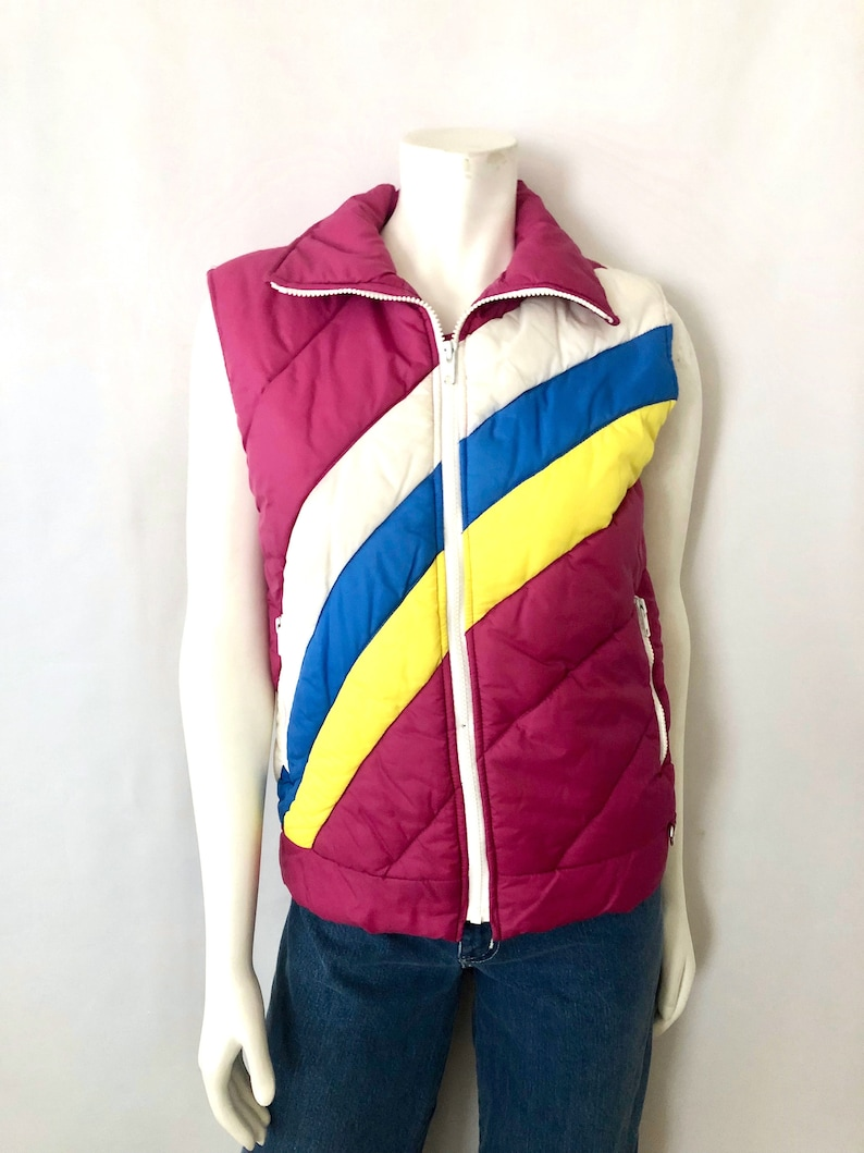 Vintage Women's 80's Down Puffer Sleeveless Vest by image 0