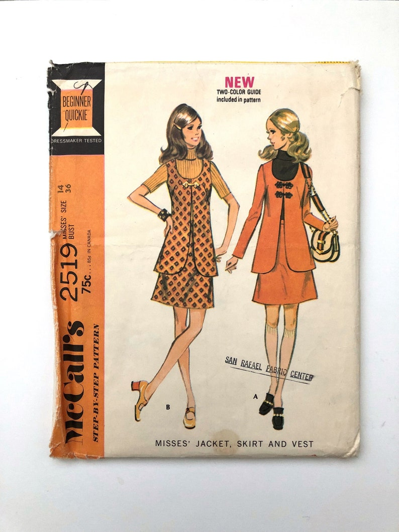 Vintage Sewing Pattern Women's 70's Uncut image 0