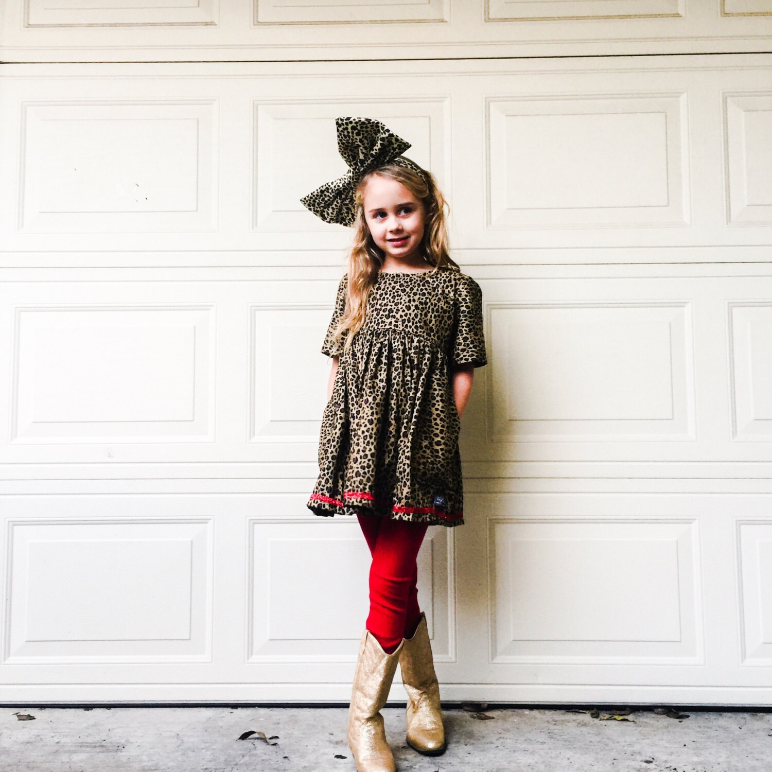 773e12b5b4 Leopard print Dress Leopard Print girls dress Boutique