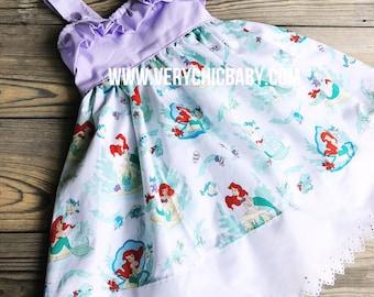 Little Mermaid Dress, Ariel Dress, Mermaid Dress, Ariel Birthday Dress, Mermaid Birthday Dress, Little Mermaid Birthday Dress, Mermaid Party