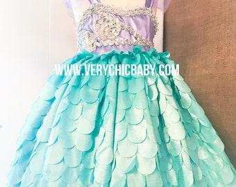Mermaid Costume, Mermaid Costume Girls, Mermaid Dress, Ariel Dress, Little Mermaid Dress, Ariel Little Mermaid Costume, Ariel Costume