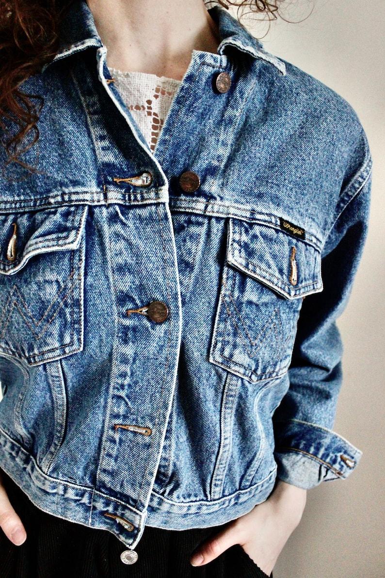Vintage denim jacket  vintage tribal jacket  embroidered boho Indian love heart jacket Tribal jacket