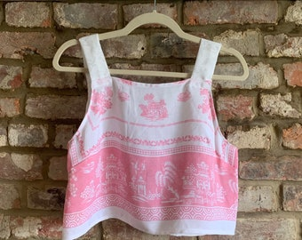 Pretty Pink Cami Crop Top
