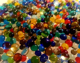 Fusible Glass Dots. COE 96. 7-9 mm in size. Choice of color. Spectrum Glass. Fused Glass. Fused Glass Supply. Mosiac Supply. PMC supply.