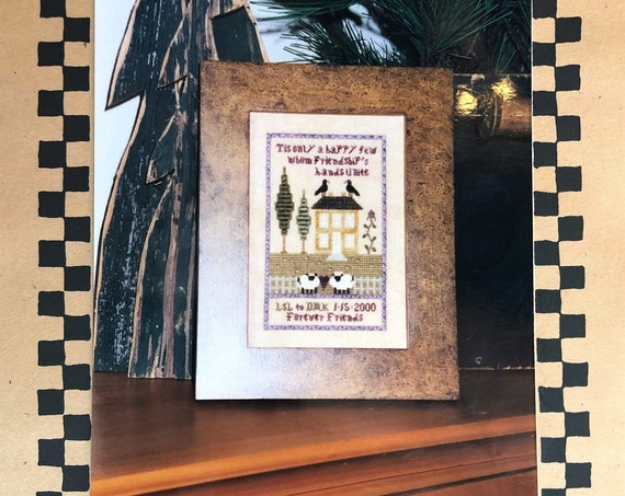 A Happy Few Sampler - Cross Stitch Pattern by CHESSIE & ME Friends - Friendship