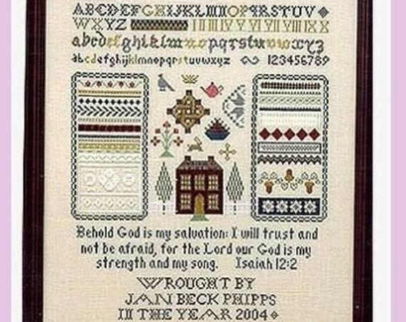 Lilybet's Sampler - Cross Stitch Pattern by LILYBET DESIGNS