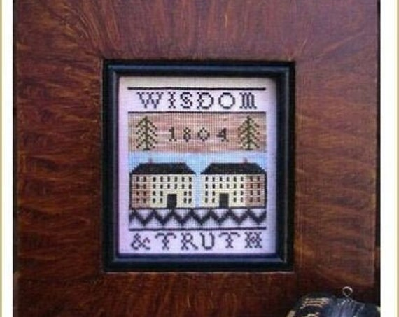 Wisdom & Truth - Cross Stitch Pattern by CARRIAGE HOUSE SAMPLINGS Sampler