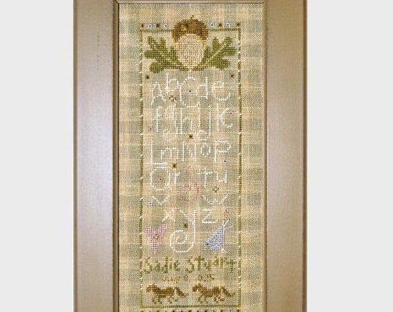 Acorn Marking Sampler - Cross Stitch Pattern by SAMSARAH DESIGN STUDIO - Alphabet - abc - Sadie Stuart