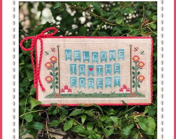 Welcome to the Forest Part 1:  Forest Banner - Cross Stitch Pattern by COUNTRY COTTAGE NEEDLEWORKS