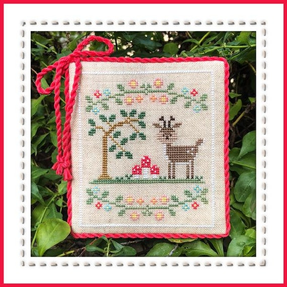 Welcome to the Forest Part 2:  Forest Deer - Cross Stitch Pattern by COUNTRY COTTAGE NEEDLEWORKS Series