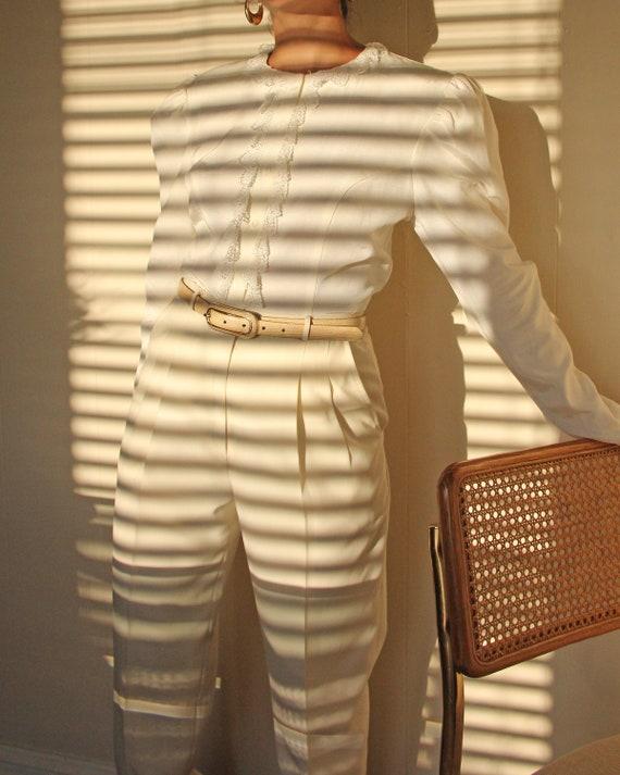 Vintage 1990s Gunne Sax Puff Sleeve Blouse - S / M - image 5