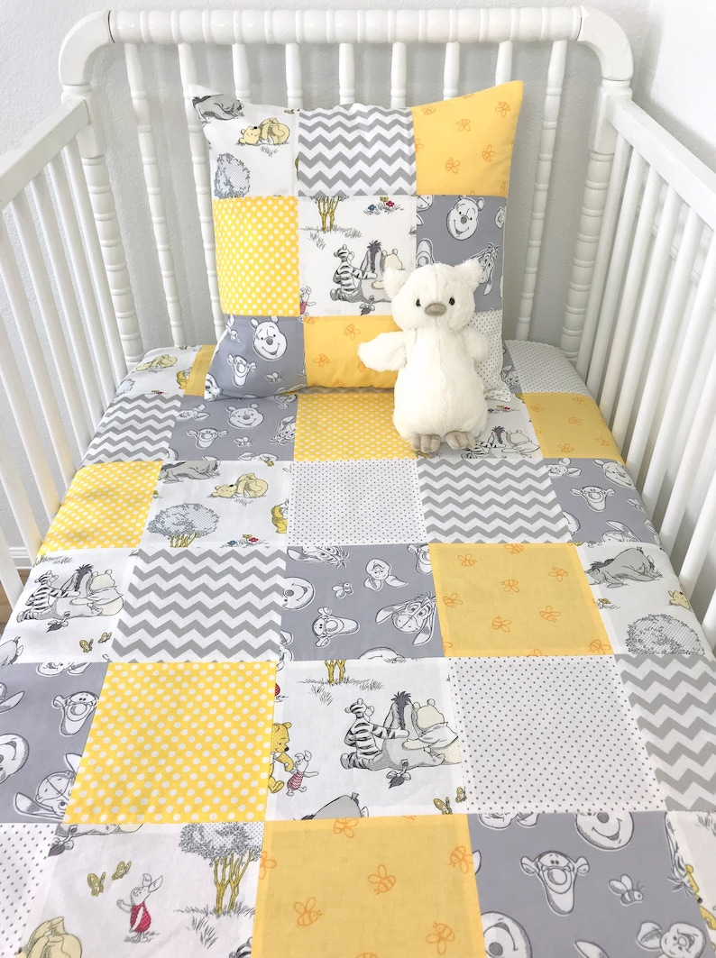 winnie the pooh baby blanket winnie the pooh nursery decor etsy rh etsy com winnie the pooh nursery decor south africa winnie the pooh nursery decor for boy