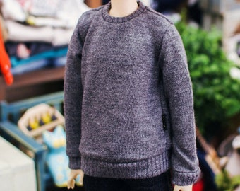 MSD Knit Basic MTM - Gray