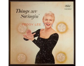 Glittered Peggy Lee Things Are Swinging Album