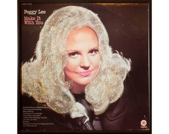 Glittered Peggy Lee Make it With You Album