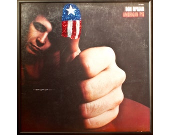 Glittered Don McLean American Pie Album