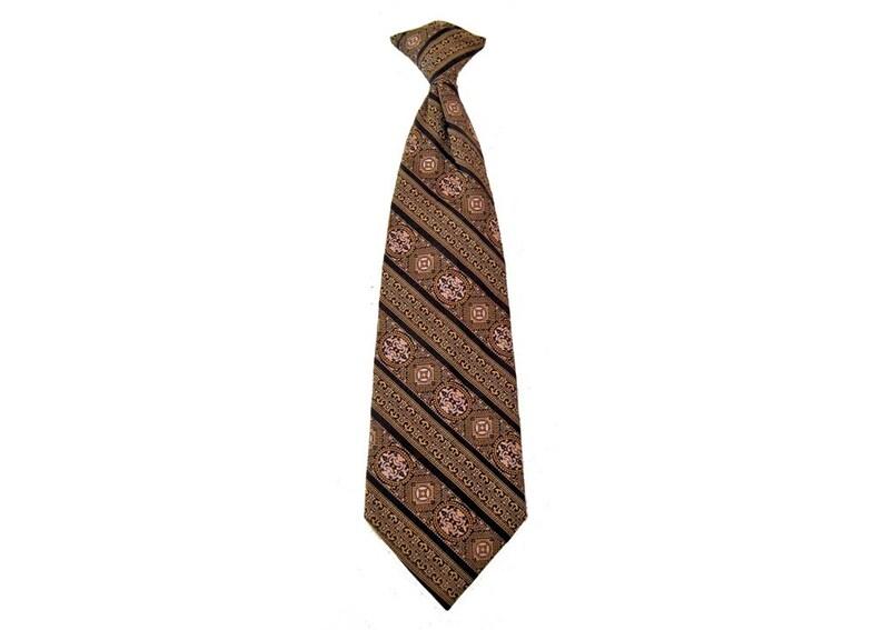 Clip On Tie 70's Necktie image 0