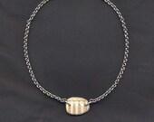 Fossil Shell Sterling Sil...