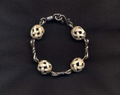 Sterling Silver Twisted L...