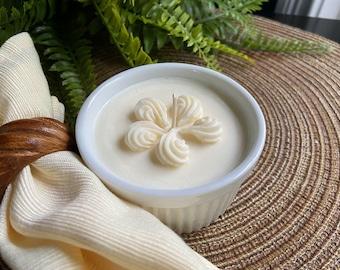 Buttery Vanilla Ramekin Candle **Elegance in Soy**