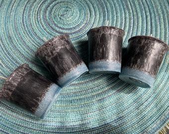Thunderstorm Palm Wax Votive Set of Four