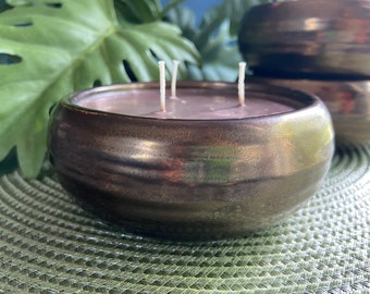 Patchouli Wave Soy Candle
