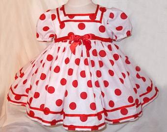 197a8dd33 Girl polka dot dress