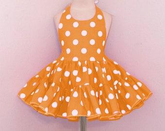 35c4994cc154 Orange baby dress