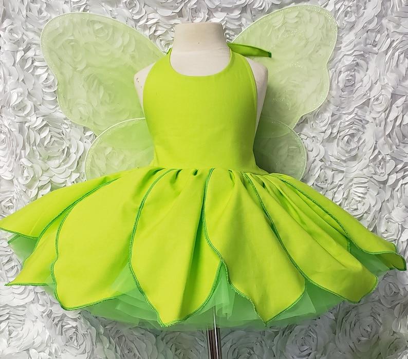 Tinkerbelle Petals Skirt Dress with built in petticoat image 0