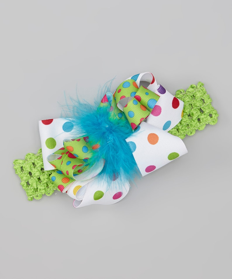 Photo Prop Big Hair Bow Perfect for Birthday Photos and Party image 0